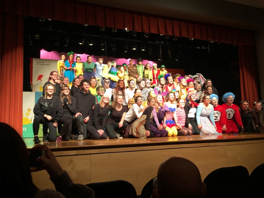 Cast and Crew of Seussical
